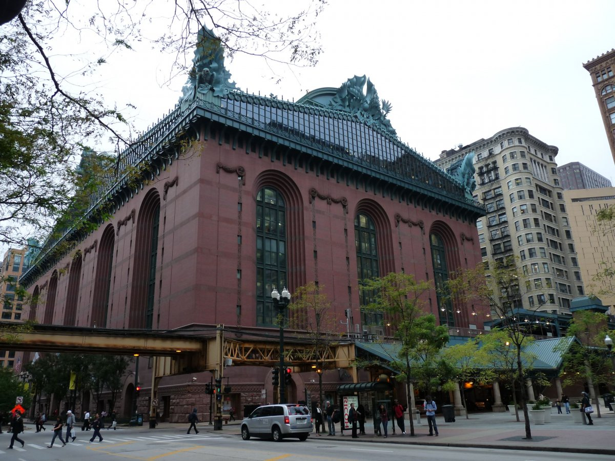Harold Washington Library - 1