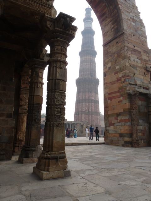 Delhi - Qutub Minar - 9
