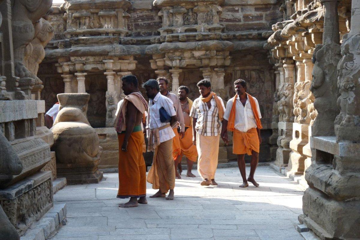 Kanchipuram - Pélerins