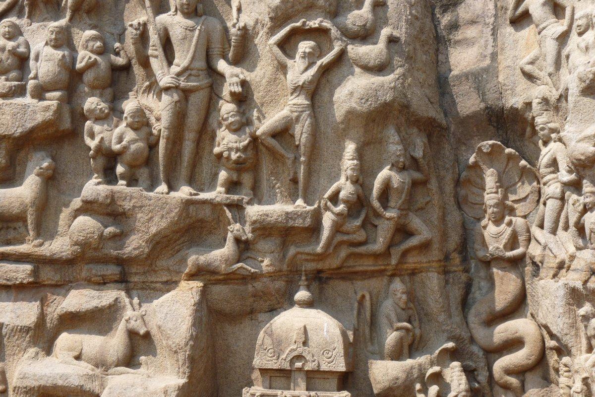 Temples de la Colline - L\'Ascèse d\'Arjuna