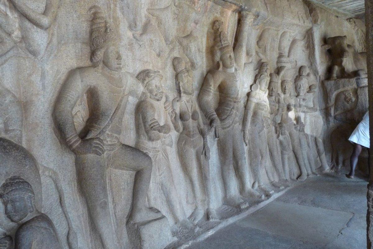 MAHABALIPURAM Temples de la Colline