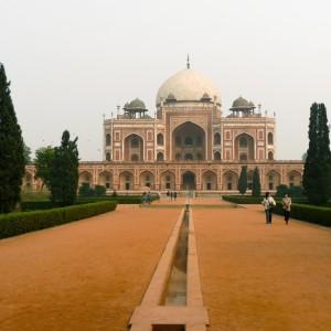 Le tombeau de l'empereur Humayun à Delhi (1570)