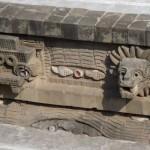 détail du Temple de Quetzalcóatl