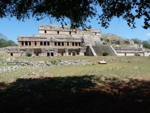 Palais de Sayil, superbe exemple de l'architecture Puuk