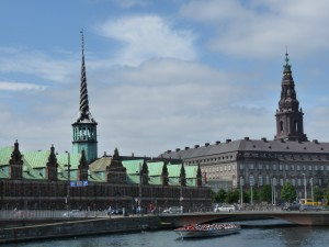 La bourse -XVIIè s. et le chateau de Christiansborg