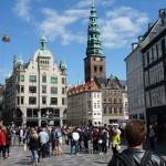 Stroget. Ce terme désigne le centre ville partout au Danemark.