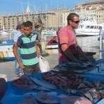 Le marché au poisson