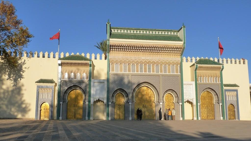 Fez - Portes du Palais Royal