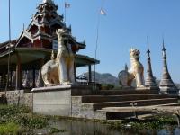 Stupas de Shwee Inn Thein