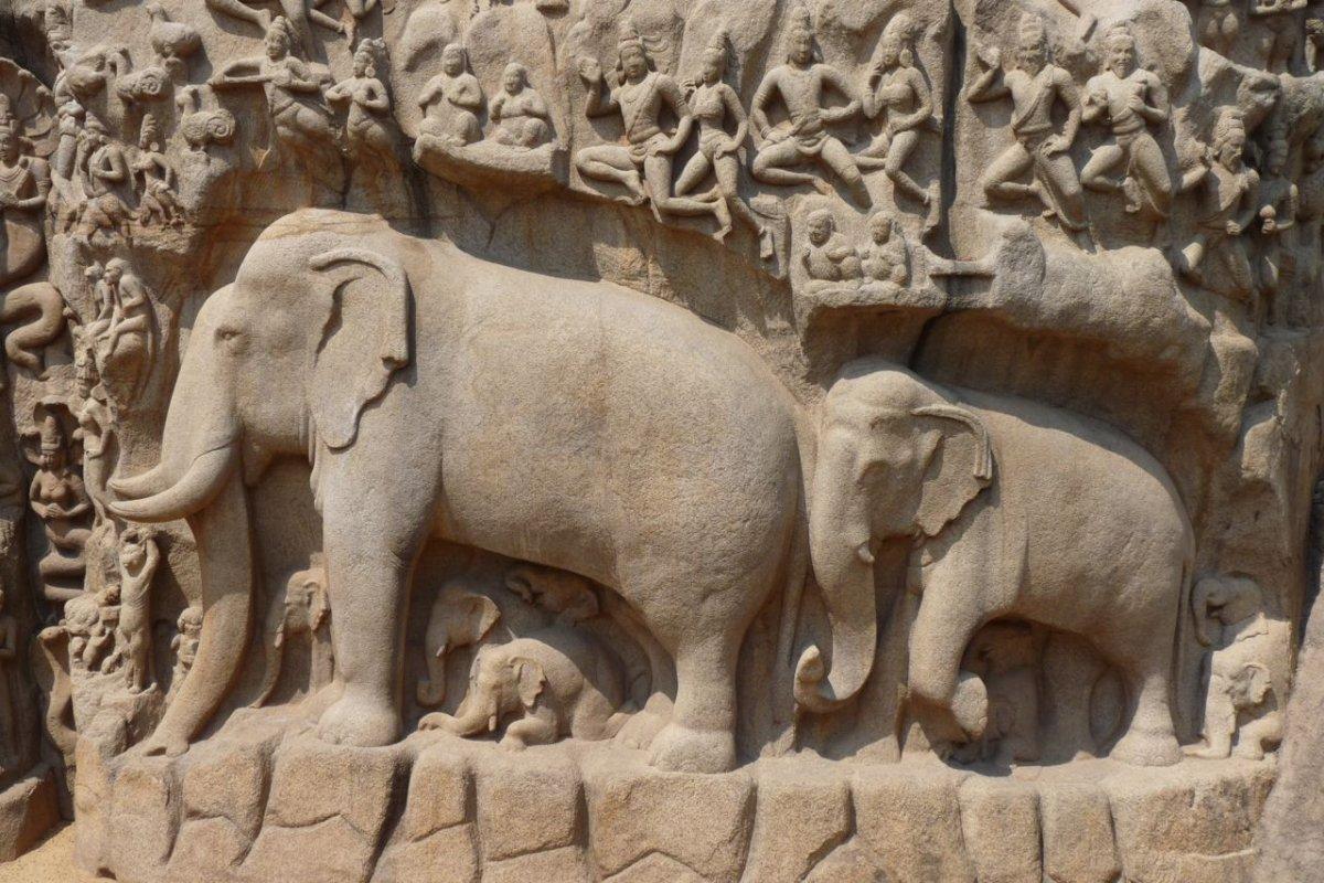 MAHABALIPURAM Temples de la Coline