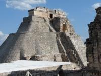 MEXIQUE _ UXMAL _ La pyramide du Devin